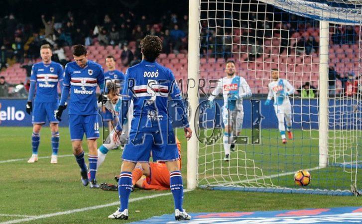Deciso l'orario di Sampdoria-Napoli
