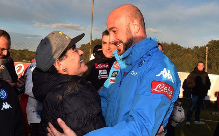 """Maradona, altra """"mazzata"""" ad Higuain. E messaggio in codice ad ADL"""