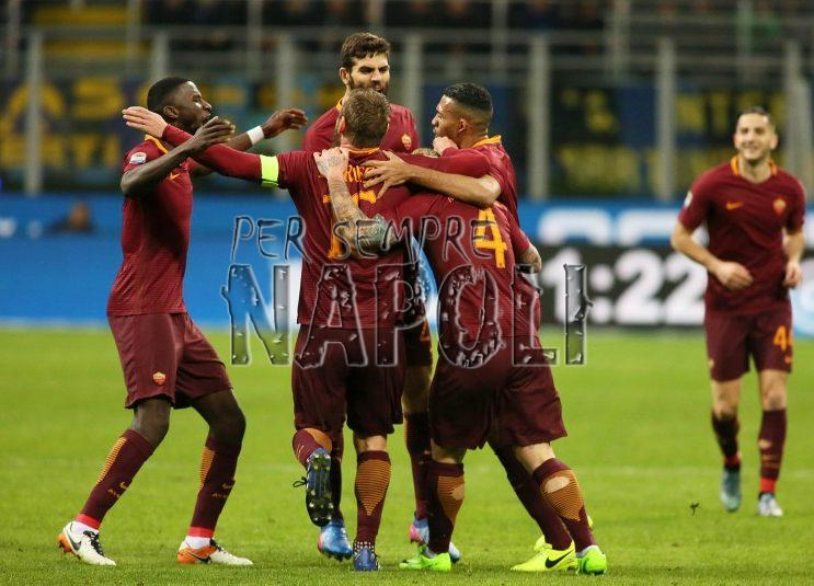 Roma: Dzeko 10 gg stop, salta la Juve