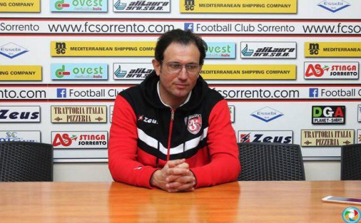 San Vito Positano-Sorrento 1-1, Le dichiarazioni del mister Maurizio Coppola in conferenza stampa post-partita