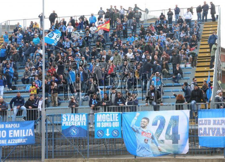 Napoli, in 10.000 all'Olimpico per spingere gli azzurri alla vittoria