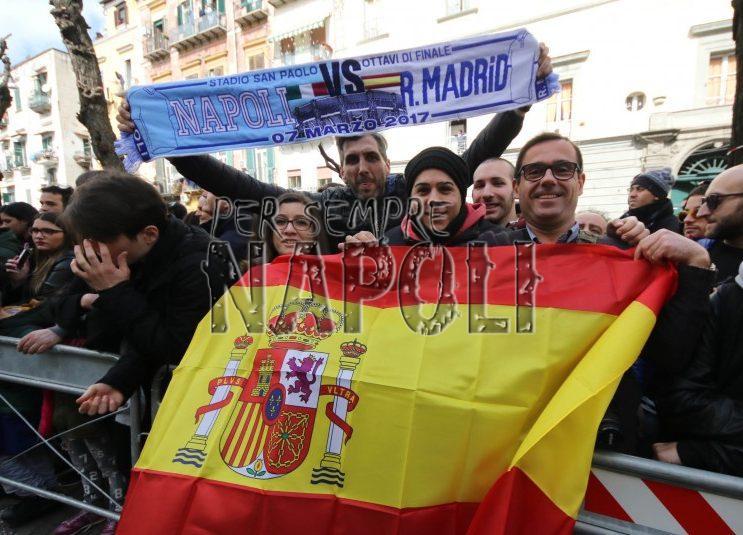 Napoli-Real Madrid, tutte pazze per Crisitiano Ronaldo