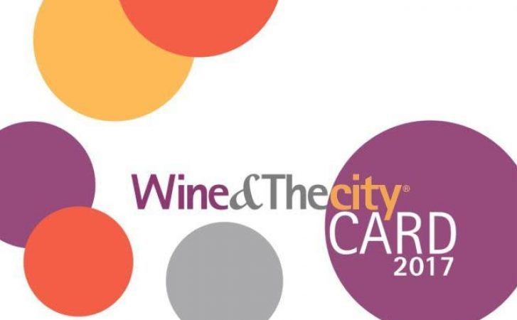 Wine&Thecity CARD 2017: un anno di agevolazioni e sconti