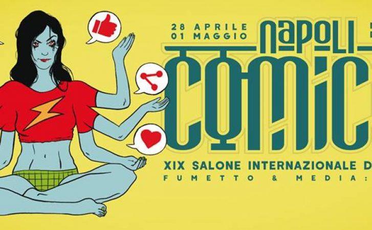 Comicon 2017: a Napoli la 19° edizione della fiera dedicata al fumetto