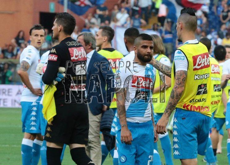 Cori offensivi contro il Napoli, multata la Sampdoria