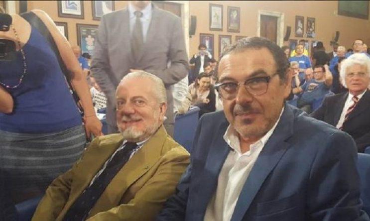 """Napoli, Sarri e De Laurentiis in coro: """"Difficile migliorarsi"""""""