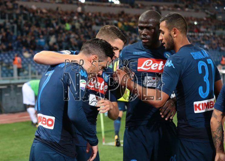 Lazio-Napoli, l'omaggio di Sarri: