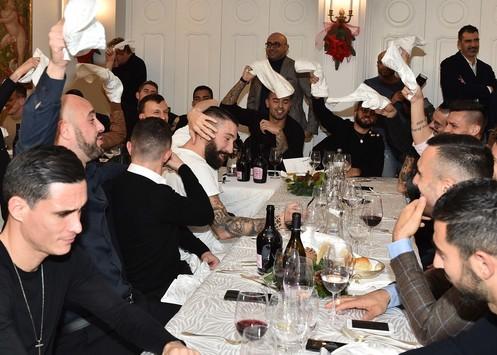 Napoli, assente un big alla cena
