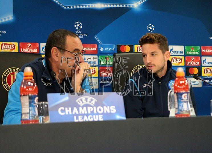 Feyenoord-Napoli, brutte notizie per Sarri: in dubbio un titolarissimo