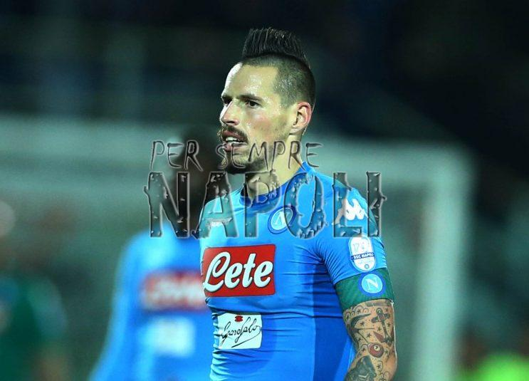 Atalanta-Napoli, le ultime: Hamsik non si allena