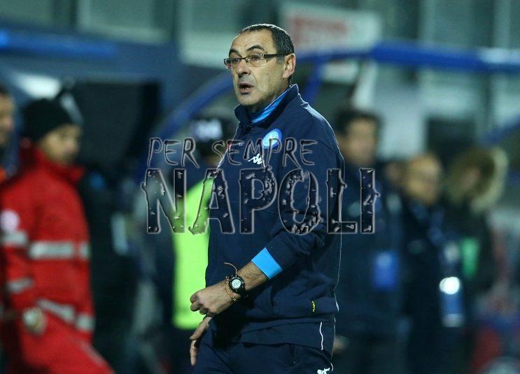 Crotone-Napoli, Maurizio Sarri: