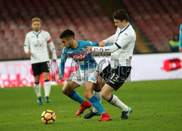 Serie A: Il Napoli, grazie ad un ritrovato Mertens, batte l'Atalanta 1-0