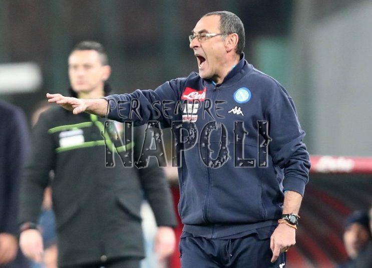 Napoli, Sarri, questo è l'atteggiamento da grande squadra ?