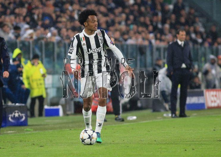 Juventus, Cuadrado avverte il Napoli: