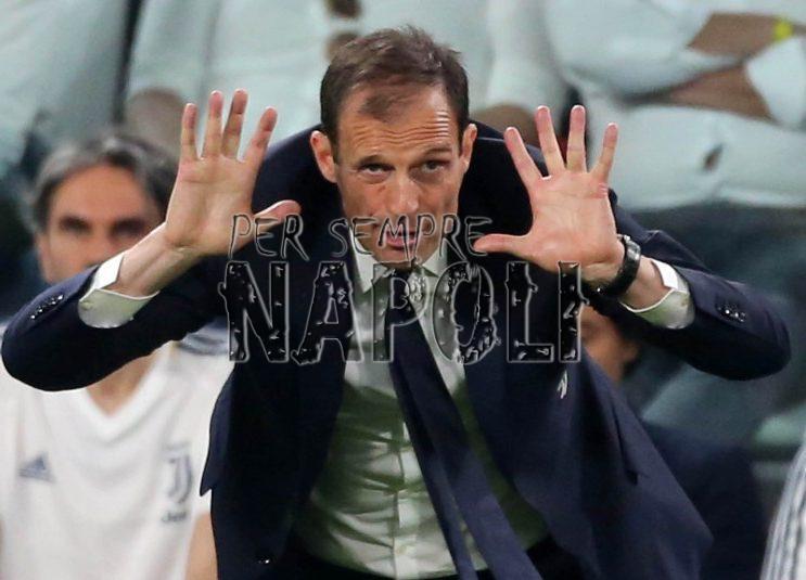 Juventus, la resa di Allegri: