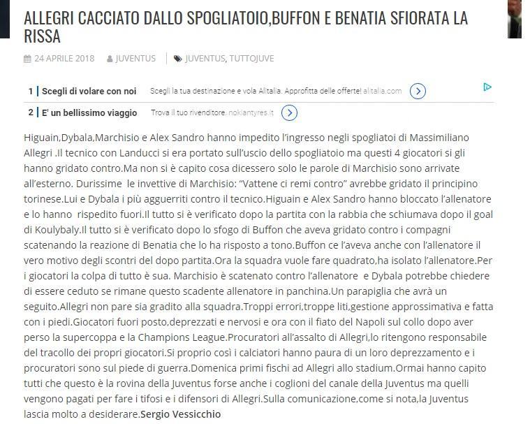Juventus-Napoli, storia di rimonte e di scudetti persi incredibilmente