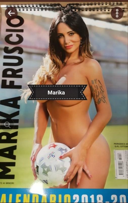 Calendario Senza Veli 2018.La Sorpresa Di Marika Fruscio Per I Tifosi Del Napoli